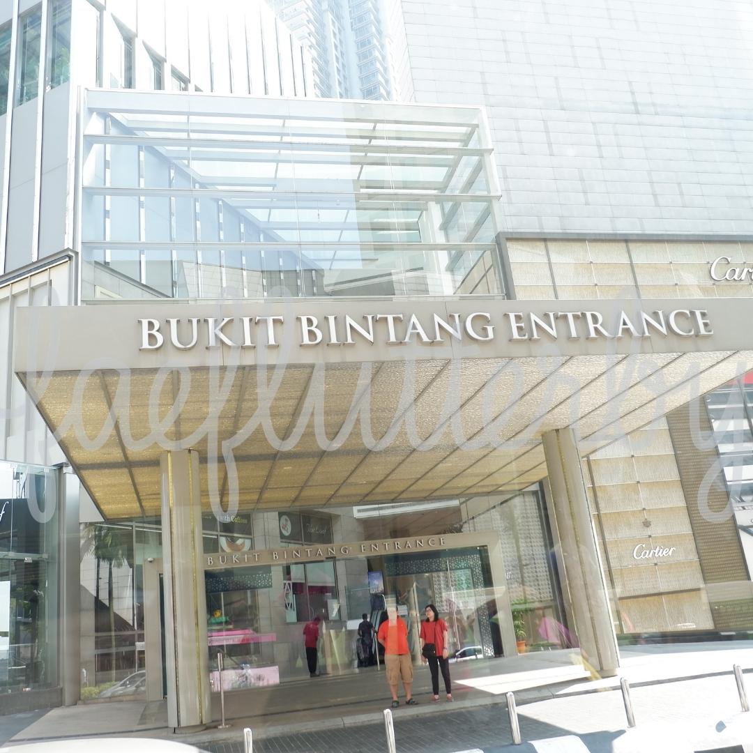 Fae Flutterby - Malaysia Budget & Itinerary_ Kuala Lumpur & Penang - Bukit Bintang Mall Entrance