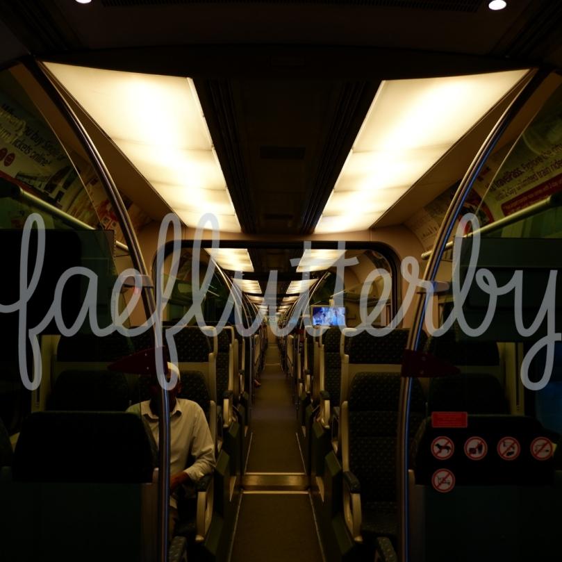 Fae Flutterby - Malaysia Budget & Itinerary_ Kuala Lumpur & Penang - KLIA Ekspres Aisle