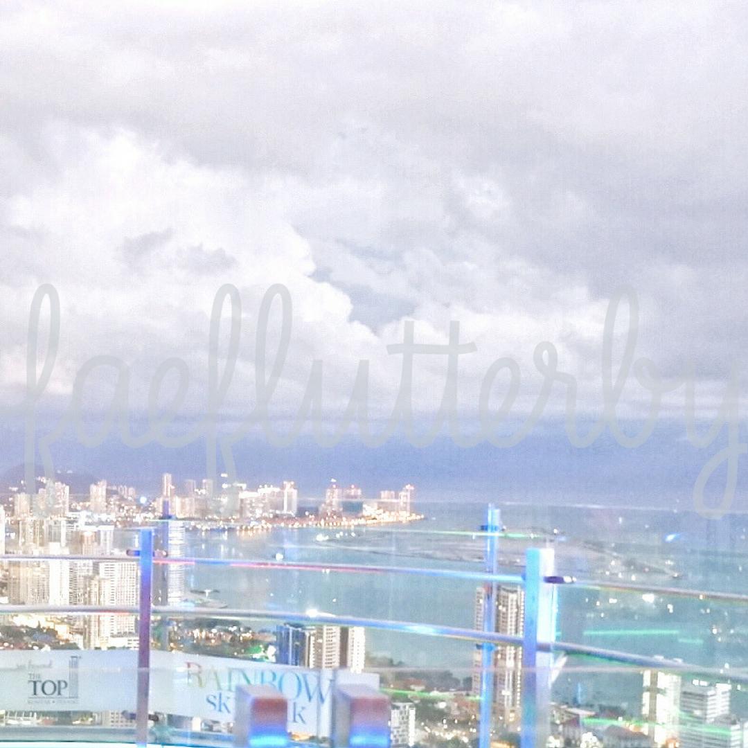 Fae Flutterby - Malaysia Budget & Itinerary_ Kuala Lumpur & Penang - The Top Komtar Penang Rainbow SKywalk