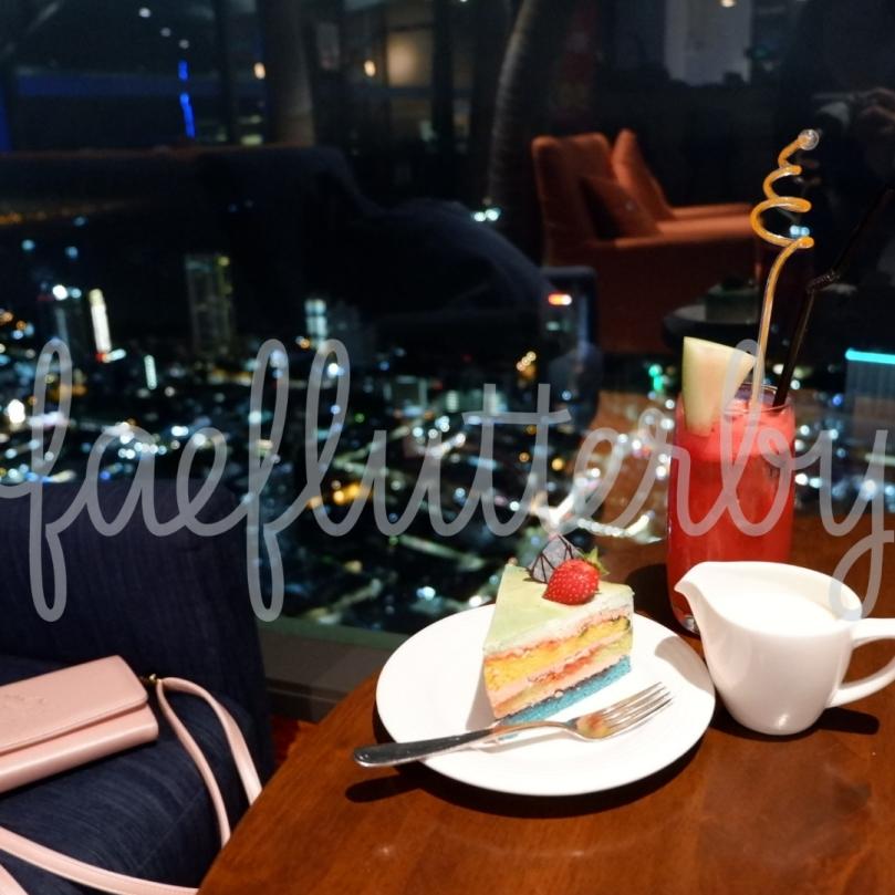 Fae Flutterby - Malaysia Budget & Itinerary_ Kuala Lumpur & Penang - The Top Penang Coco Cabana Rainbow Cake