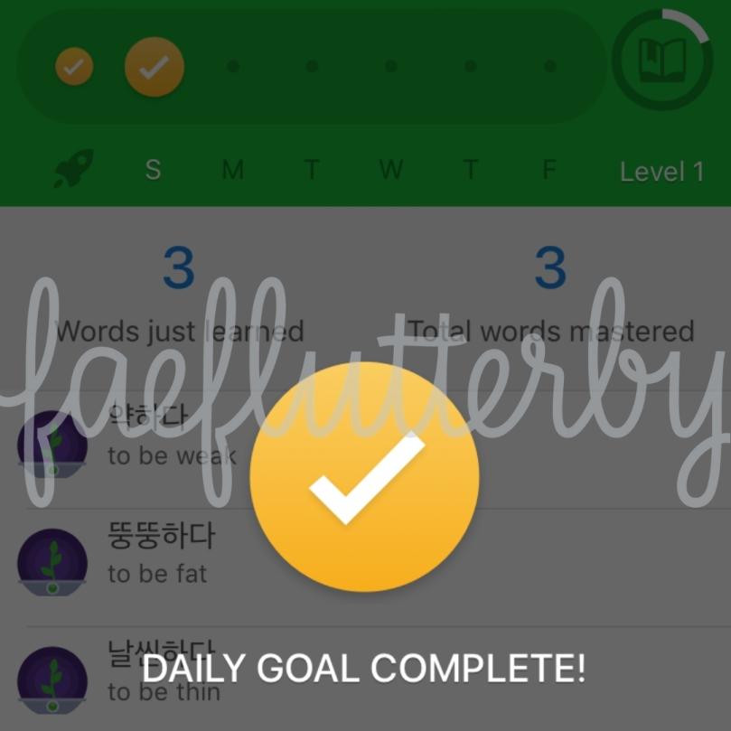 FaeFlutterby - 10 Weeks Habit Mastery Challenge - Language