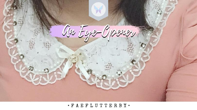 Fae Flutterby An Eye Opener